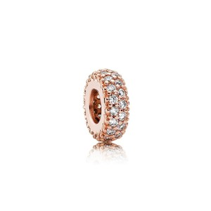PANDORA Inspiration within SPACER Pandora Rose & Clear CZ