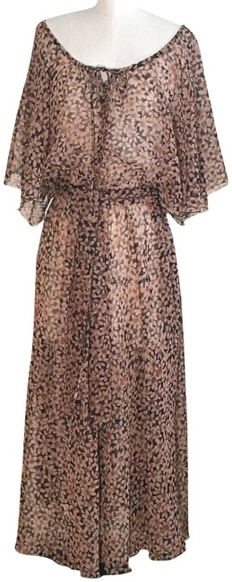 Item - Black Pink Vintage Mid-length Casual Maxi Dress Size 4 (S)