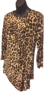 Vince Camuto Polyester Top Animal