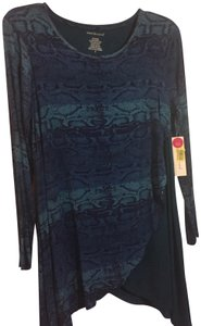 Westbound Casual Snake Top blues