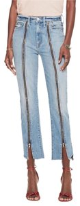 Mother Sexy Stylish Hip Relaxed Fit Jeans-Light Wash