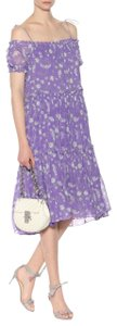 Ulla Johnson Premium Floral Boho Bohemian Silk Dress