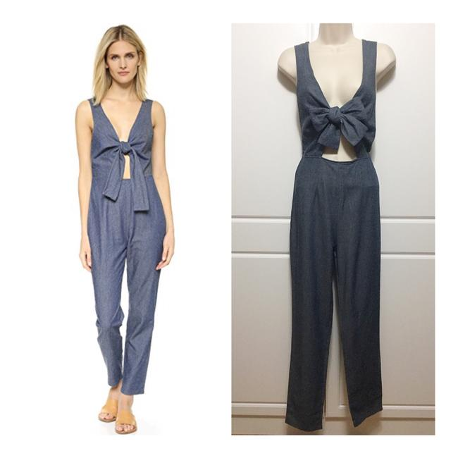Preload https://img-static.tradesy.com/item/23600629/solid-and-striped-chambray-silk-blend-long-romperjumpsuit-size-8-m-0-0-650-650.jpg