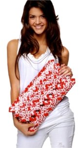 Ecoist Red Clutch