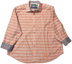 Robert Graham Button Down Shirt Orange