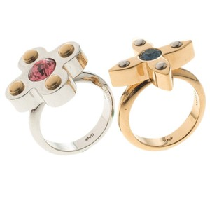 Louis Vuitton Love Letter Timeless Ring Set Size 50.5