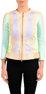 Just Cavalli Multi-Color Womens Jean Jacket