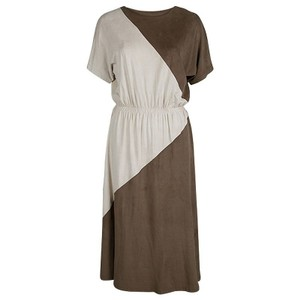 211afdfd86f Brown Maxi Dress by Alexander Wang Suede Cotton Polyester
