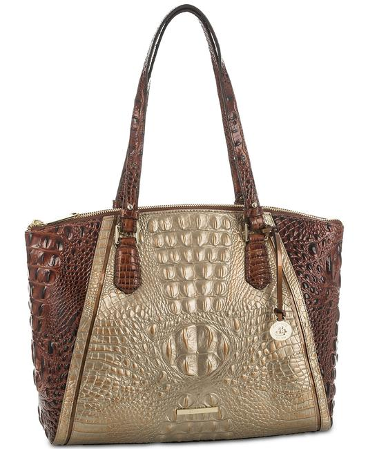 Item - Emerson Large Rose Gold Leather Tote