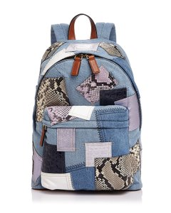 Marc Jacobs Biker Patchwork Backpack