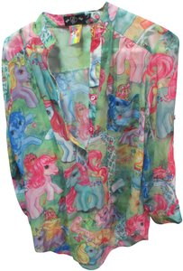 Iron Fist My Little Pony Tunic Top multi color