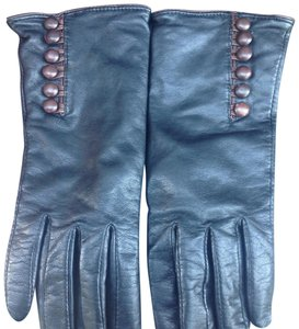 Alexandra Bartlett Alexandra Bartlett black leather glove size m