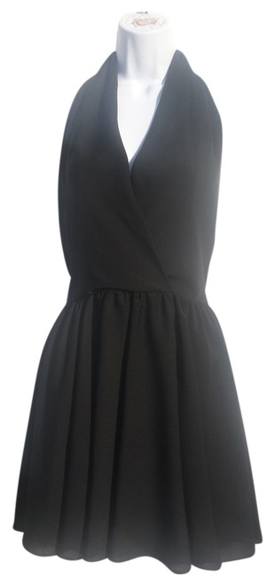 Georgiou Studio short dress Black on Tradesy
