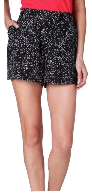 Item - Black White Nwot Leifsdottir Loveburst Heart Print Shorts Size 6 (S, 28)