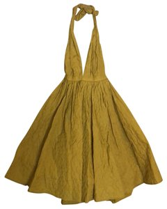 Jean-Paul Gaultier for Target short dress Mustard Yellow on Tradesy