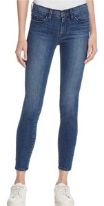 FRAME Skinny Jeans-Medium Wash