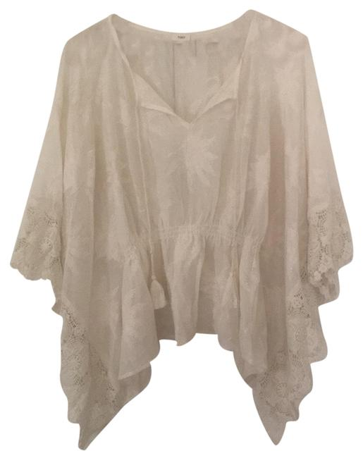 Item - Cream Boho Cover-up/Sarong Size 8 (M)