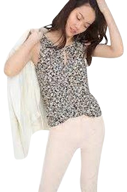 Item - Multicolor Printed Shell Blouse Size 14 (L)