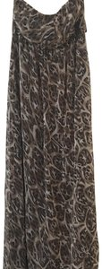 Black/brown multi Maxi Dress by Charlotte Russe