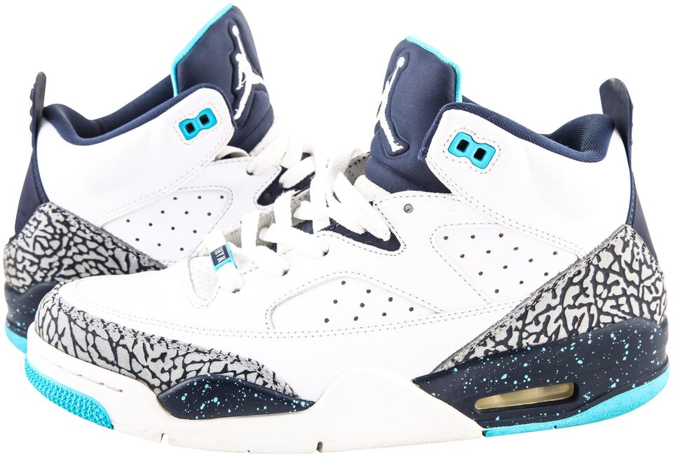 new products 741e4 47b99 Nike White Air Jordan Son Of Low Hornets Sneakers