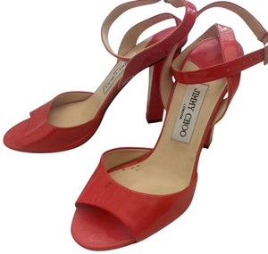 Jimmy Choo Orange-red Formal