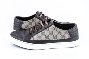 Gucci Brown Gg Supreme Trainers Sneakers Shoes