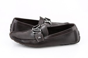 Louis Vuitton * Brown Monte Carlo Moccasin Shoes