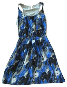 Hang Ten short dress Gray, Blue, and Black on Tradesy