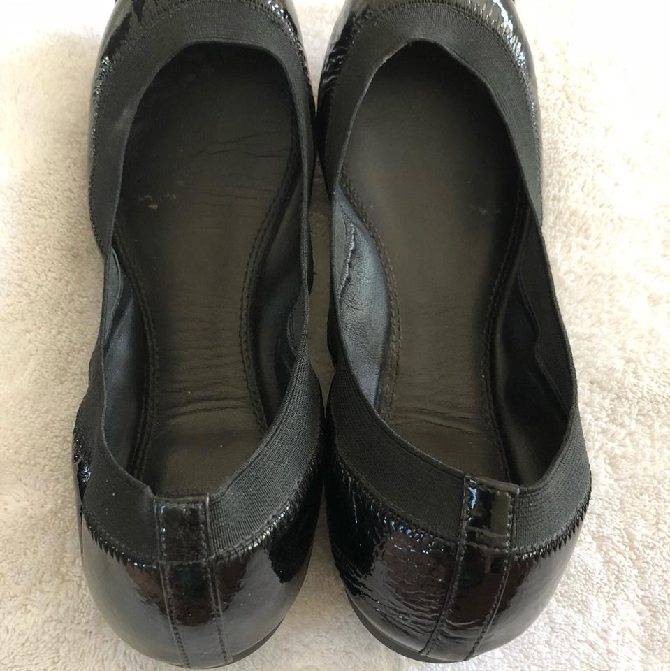 SJP by Sarah Jessica Parker Matinee Leather Flats in Black