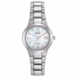 Citizen Silhouette Eco-Drive Mother of Pearl Dial Ladies Watch