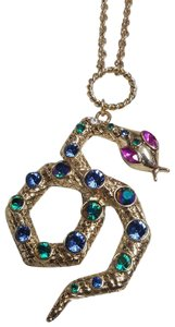 Betsey Johnson Long Snake Necklace