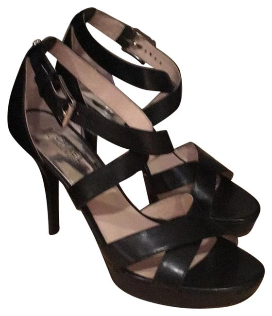 Item - Black Evie Platform Formal Shoes Size US 8 Regular (M, B)