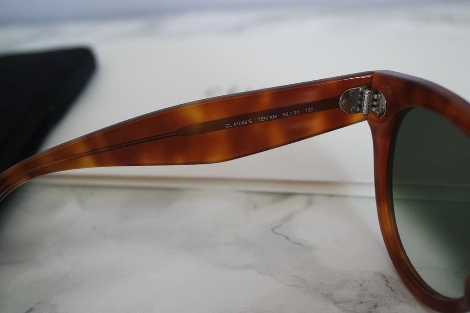 1983980eccbe Céline NEW Celine CL 41049 S Thin Preppy Oversized Keyhole Sunglasses Image  8. 123456789
