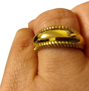Carolyn Pollack Siganature Colletion Migrain Trimmed Ring