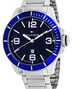 Tommy Hilfiger New Tommy Hilfiger Men's Classic 30 Quartz Stainless Men's 46mm Watch 1791443