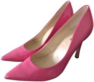 Guess Patten Leather Stiletto Pink Pumps