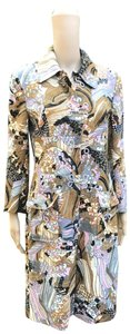 Dolce&Gabbana Funky Psychedelic Trench Coat