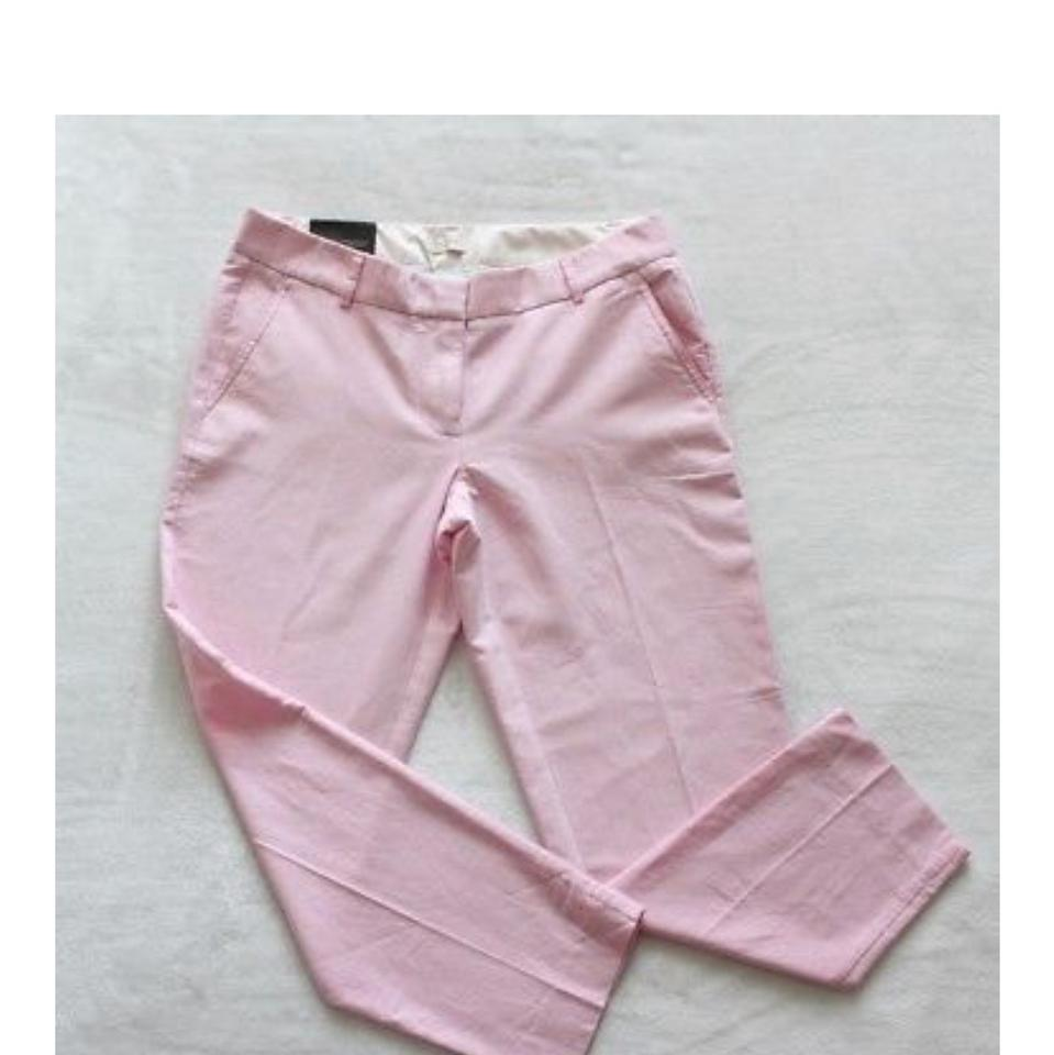 90e1506a5520 J.Crew Red/ Pink Skimmer Pants Size 8 (M, 29, 30) - Tradesy