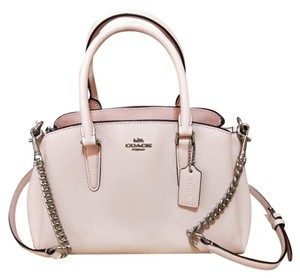 Coach Madison 36718 Christie Carryall Satchel in light pink