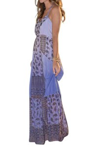Maxi Dress by Gypsy05 Silk Maxi Date Night Boho Bohemian