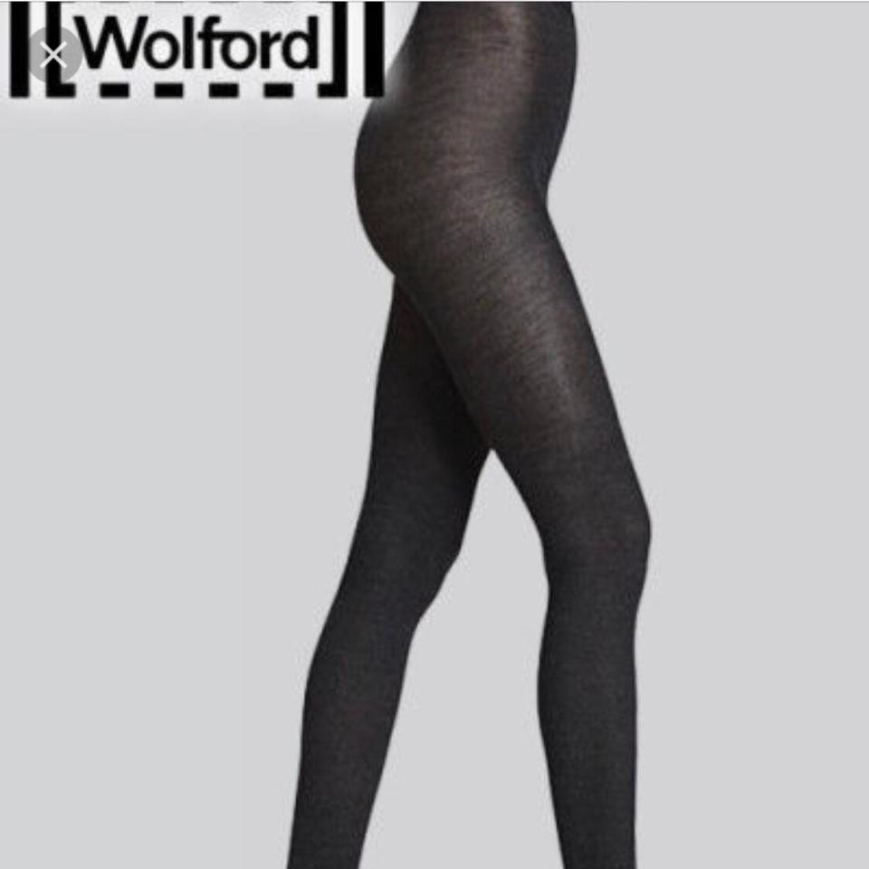 137d6a0f547 Wolford Wolford wool fine ribbed footless tights leggings Image 7. 12345678