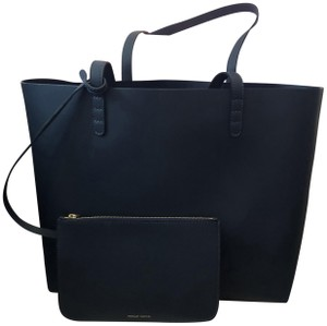 Mansur Gavriel Tote in Navy Blue