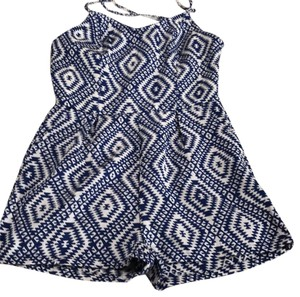 Jack by BB Dakota Dress Shorts Navy blue & white