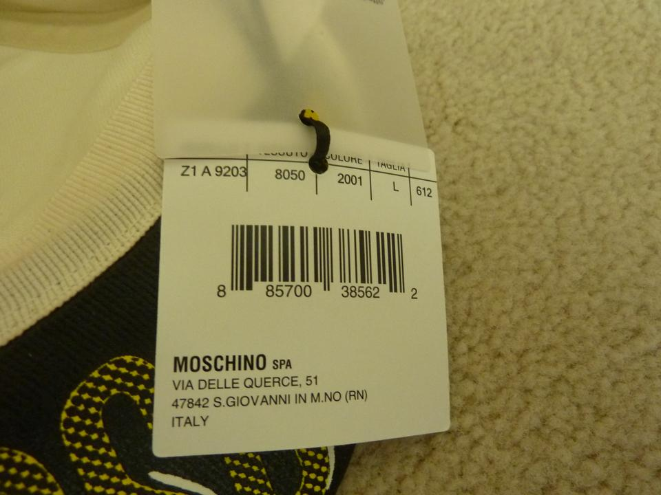 31cacc687bd Moschino $350 MOSCHINO Couture! Lady/Unisex Logo Pattern Baseball Cap Hat L  Image 8. 123456789