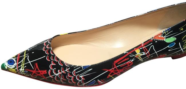 Item - Graffiti Ballalla Black Patent 41/10.5 Flats Size EU 41 (Approx. US 11) Regular (M, B)