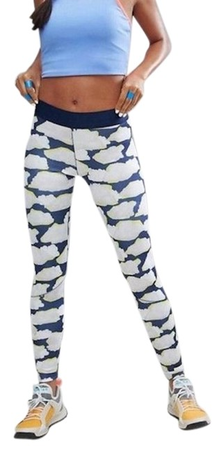 Item - Blue For Studio Performance Run 7/8 Activewear Bottoms Size 4 (S, 27)
