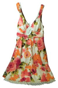 Speechless short dress multi colored floral on Tradesy