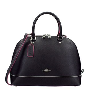 Coach Satchel in Black/Multi