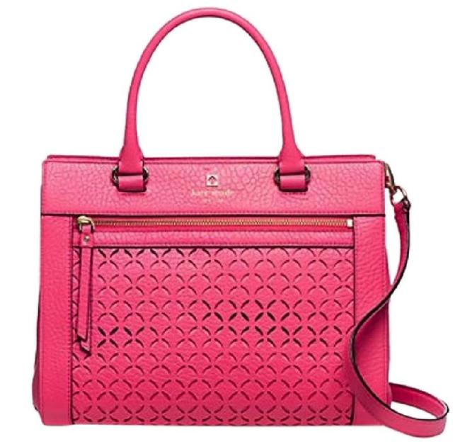 Item - Flash-sale Perri Lane Romy Pink Leather Satchel