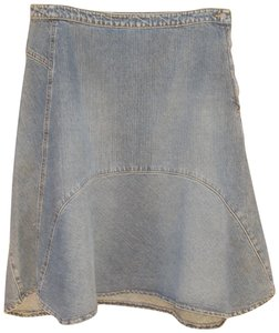 Jigsaw Skirt Blue